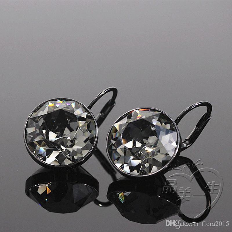 Moda Bella Designers Stud Orecchini realizzati con elementi di cristallo Swarovski Ufficio per le signore delle ragazze di nozze orecchini regalo dei monili delle donne