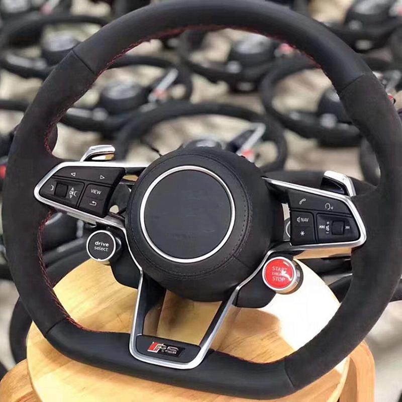 폭스 바겐 MQB 스포츠 스티어링 휠 시작 스위치 운전 모드 스위치 R8 엔진 스타트 스톱 드라이브 선택 버튼