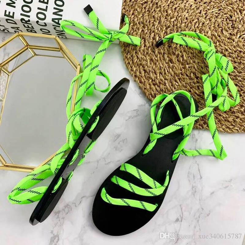 Sandales en cuir véritable de la marque Brand avec chaussures de marque pour femme