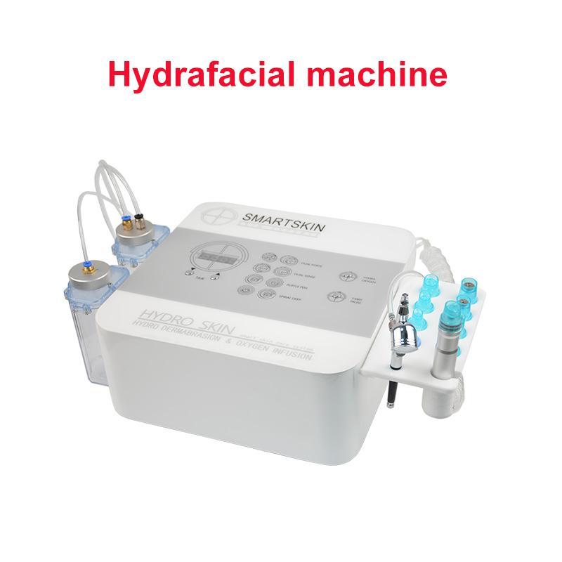 fábrica profesional de máquina HydraFacial diamantes microdermoabrasión exfoliación suave infusión de oxígeno cuidado de la piel balneario del salón de uso en el hogar