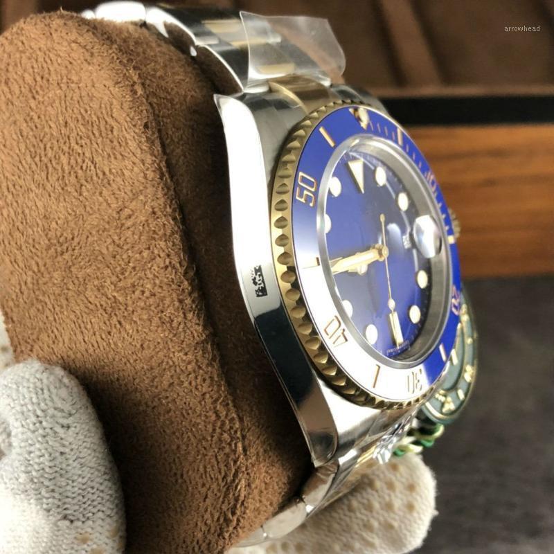 AR V3 3135 механизм SUB 116613LB-0005 904L сталь 116610 заводная головка Watches1