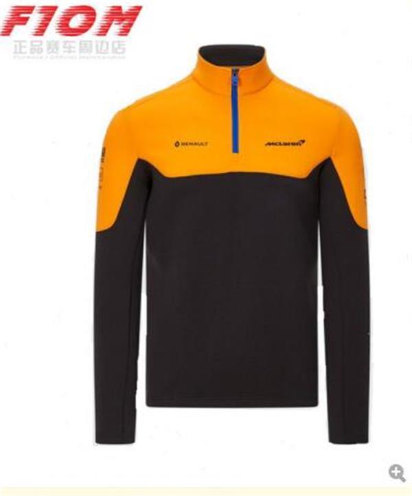 F1 맥라렌 맥라렌 2,020 매 클래 런 2020 후드 스웨터 긴 소매 재킷