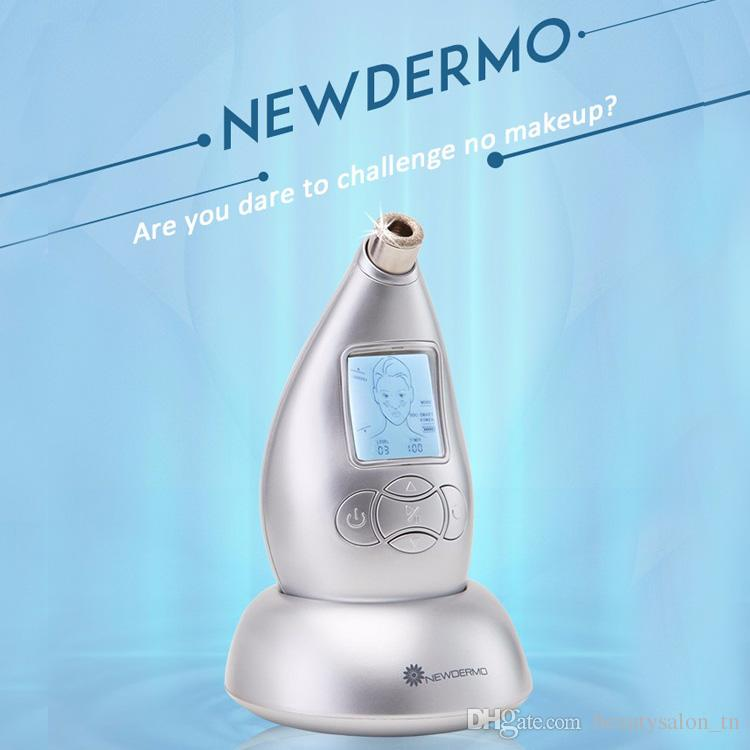 2019 New DERMO Household Skin SPA Microdermabrasion Machine Multi-Function Anti-Wrinkles Remove Eye Bags Skin Rejuvenation Tool