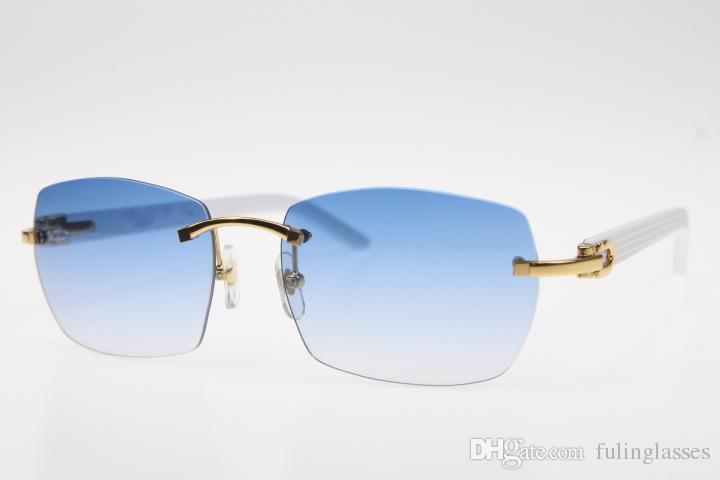 Очки Белые Солнцезащитные очки Бесплатные 8200905 Ориентир Ориекс Ориекс Ориекс Ориес-кошка с коробкой Sun Planc Blue Shipping EHPNQ