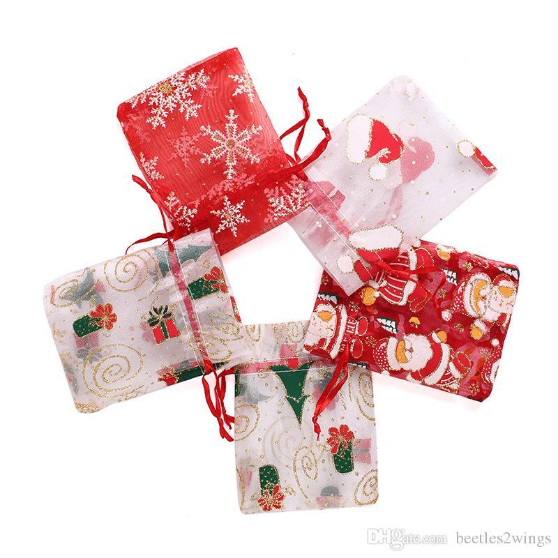 50 pcs Organza Drawstring Favor Gift Pouch USA seller