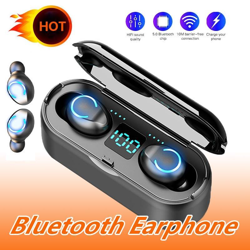 F9 8 Bluetooth 5 0 Headset Tws Wireless Earphones Mini Earbuds Stereo Headphones Ultra Short Jmpoz Anti Missing New Design Headset For Phone Wireless Headsets From Ambielstore 8 99 Dhgate Com