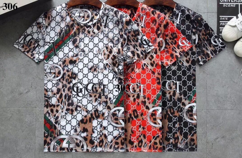 été 2019 designers tag imprimé serpent vêtements hommes lettre tissu polo g shirt col femmes occasionnels t-shirt tops 031