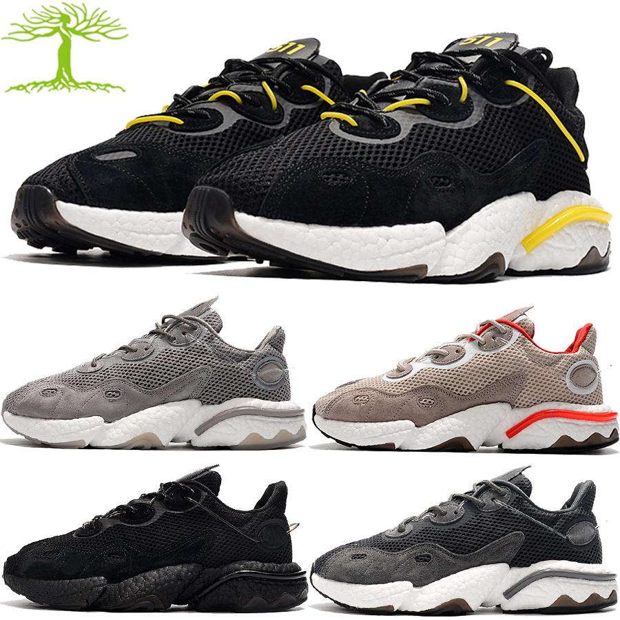 2020 Nuevo Treeperi Basfboost Runner 511 Reflective Mens Designer Sneakers Triple Negro Cool Wolf Grey Hombres Mujeres Running Shoes US 5.5-11