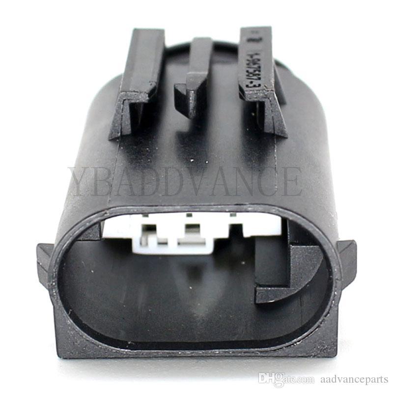 6 pin kadın otomotiv su geçirmez elektrik konut pbt gf 20 te bağlantı amp konnektör 1-968818-3 1-967587-3
