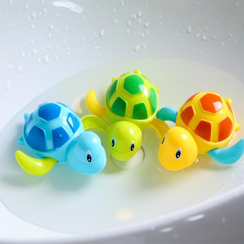 Baby Bath Toys Bathing Shower Pool Water Baby Toys Classic Baby Water Toy Animal Tortoise Toys Infant Swim Turtle Toy Dropship