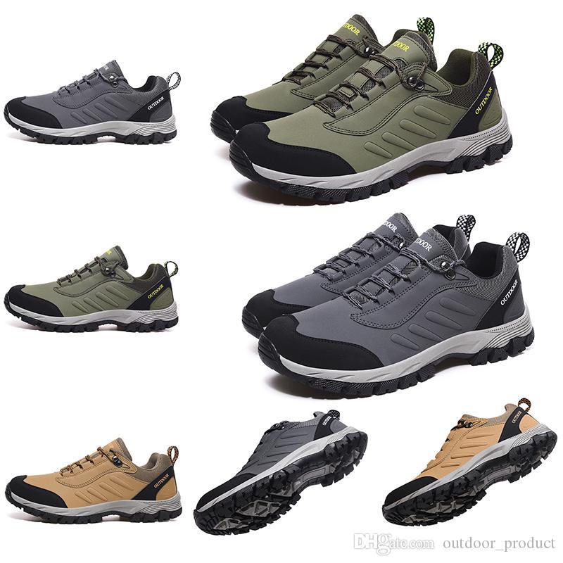 2020 Men Women Running Shoes Olive