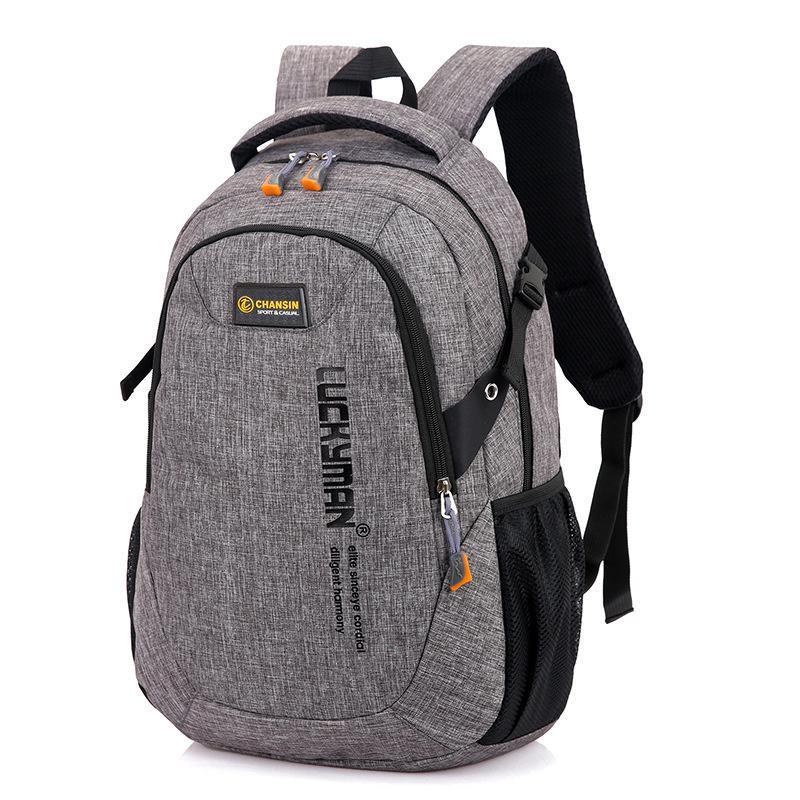 2020 neue Art und Weise der Männer-Rucksack-Beutel-Laptop-Rucksack Computer-Tasche Wasserdichte Reise Gymnasiasten Tasche qualit