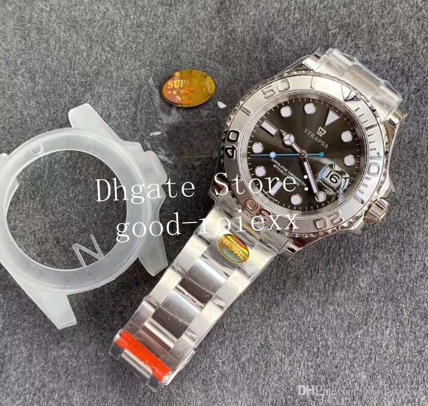 3 cores de homens 904L Aço Cal.3235 Movimento automático Assista Homens Platinum Perpetual Master Relógios Eta 126622 Relógios de pulso fábrica N Sapphire