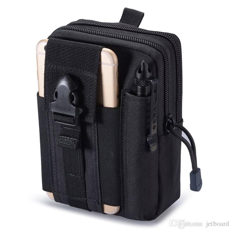 Outdoor Tactical Hip Waist Belt Wallet Pouch Purse Phone Case