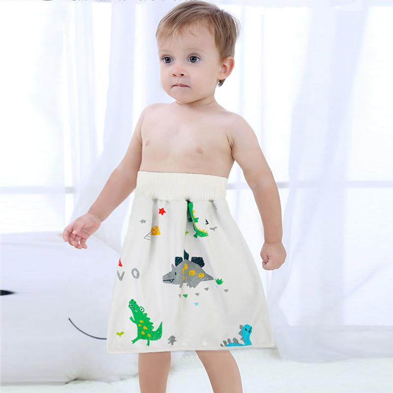 enfants en bas âge couche imperméable jupe lavable urine Pad bébé coton pee-pee réutilisable jupon tapis nouveau-né Formation Nappy