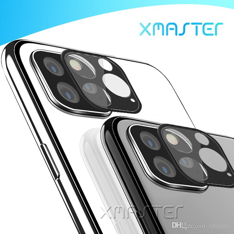Protecteur Lentille en verre Compatible avec l'iPhone 11 Pro XS XS MAX 8 Plus Huawei Maté 30 P30 Pro Retour Caméra Film de protection xMaster