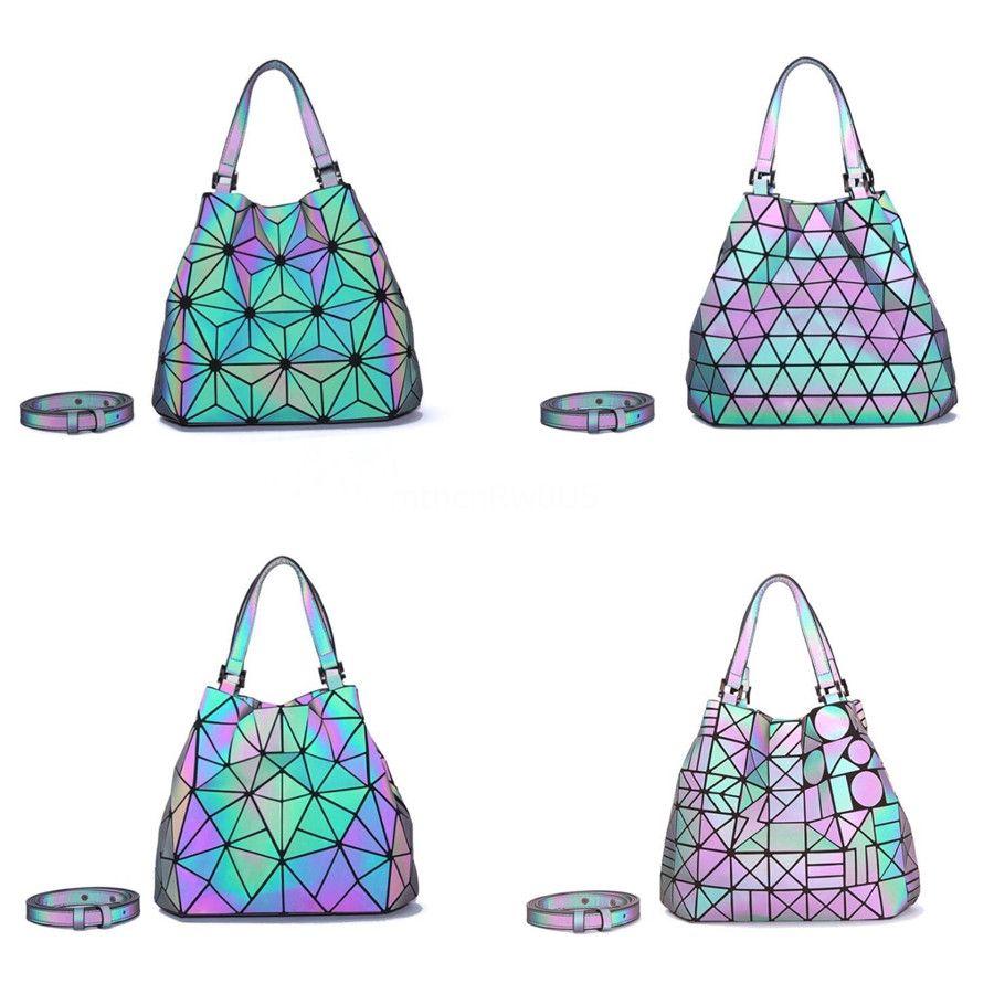 15 cores bonito grife Mulheres Bolsas Laser Bolsas de Ombro Geometric Bolsa Chains Correias # 119