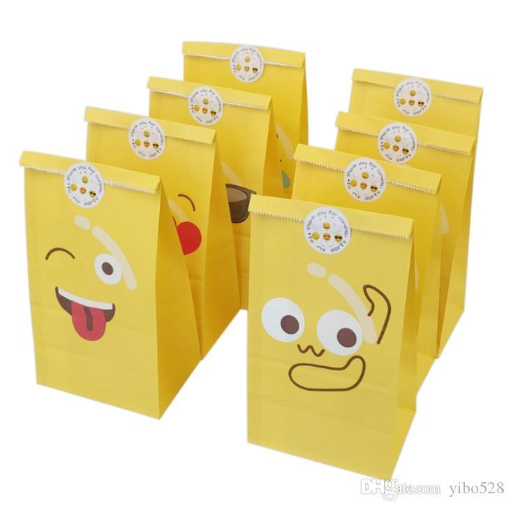 Home için 2020 Yeni Yaratıcı Sevimli Moda İfade Hediye Çanta Pişirme Paketi Çanta Şeker Kağıt Çanta