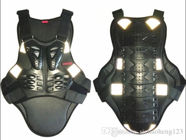 Accesorios para motocicletas Armadura de motocicleta / Montar engranajes protectores de seguridad Esquí de seguridad Protector de pecho Ciclismo Armadura Deporte Body Armors reflectante