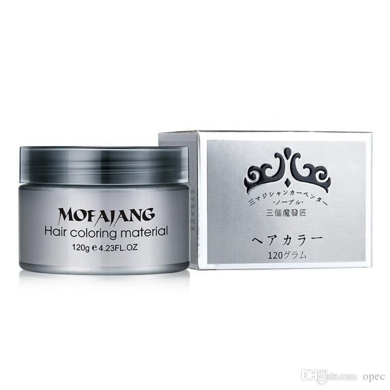 حار بيع Mofajang شمع الشعر لتصفيف الشعر Mofajang مرهم أسلوب قوي استعادة المرهم الشمع هيكل عظمي كبير مملس DHL الشحن المجاني