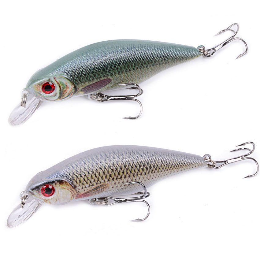 Fishing Lures 1Pcs Shad Minnow Fishing Lures 9cm 11g wobbler Quality Professional Crankbait 3D Eyes Artificial Hard Baits
