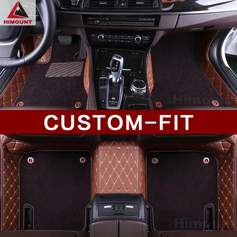 tapetes do carro personalizado para o carro Hummer H3 H2 3D styling todo o dever clima pesado impermeável anti-derrapante tapetes tapetes forros