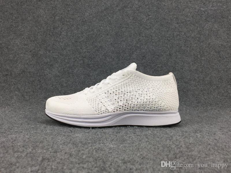 Nike Flyknit Racer Be True 2019 Бесплатная доставка Высокое качество Racer кроссовки для женщин, мужчин, легкие дышащие спортивные кроссовки