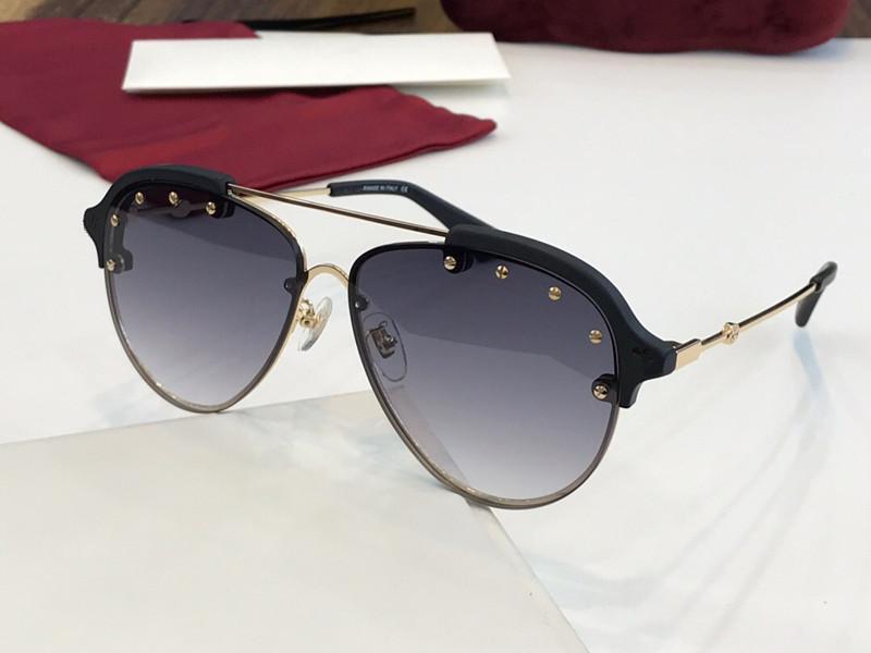 2207 Lens Proteção Moda Verão dos óculos de sol para as mulheres Brand Design Popular Rodada Estilo Top Quality UV vem com pacote 2207S