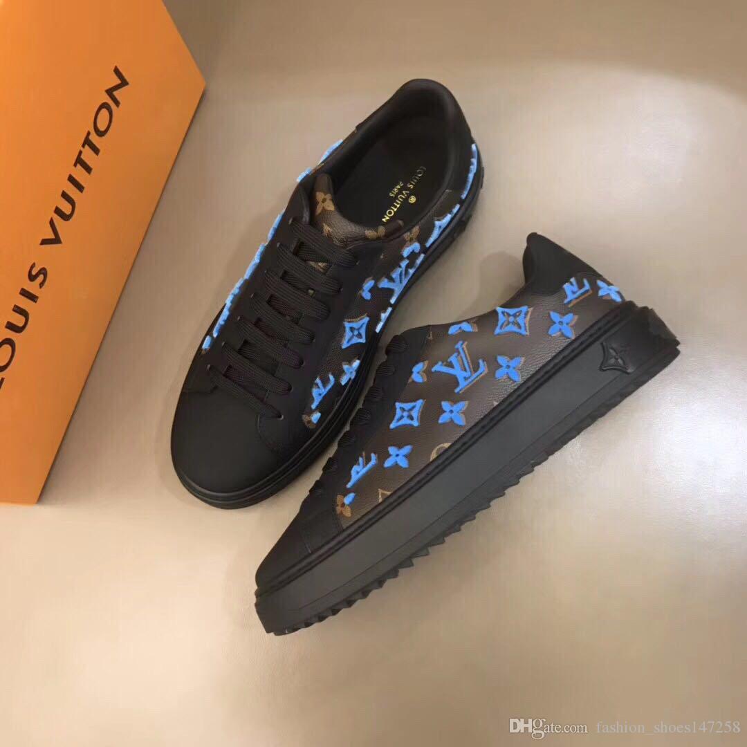 2020 NEW WS высокого качества для мужчин Весна Повседневная обувь из натуральной кожи людей способа Классические повседневные кроссовки