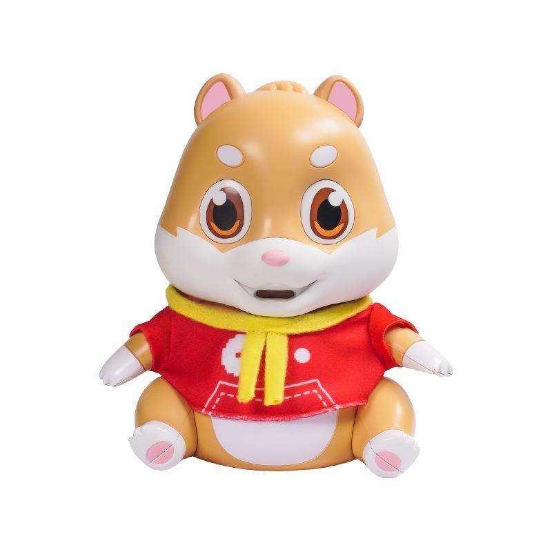 Electric Magic& Funny Repeat Sound, Recording Cartoon Mouse Toy, Can Eat, Laugh, Sneeze, Sing, Tell Story, Party Xmas Kid Birthday Gift, 2-1
