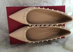 roche clouté femmes robe pointue été Chaussures rivet orteil Chaussures bateau femme Mocassins femme Ballet de bureau fête de mariage de chaussures Flats, plus la taille 35-43