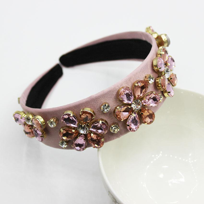 New Baroque Fashion Temperament Jewelry Headband Hair Accessories With Accessories 872 Y19051302