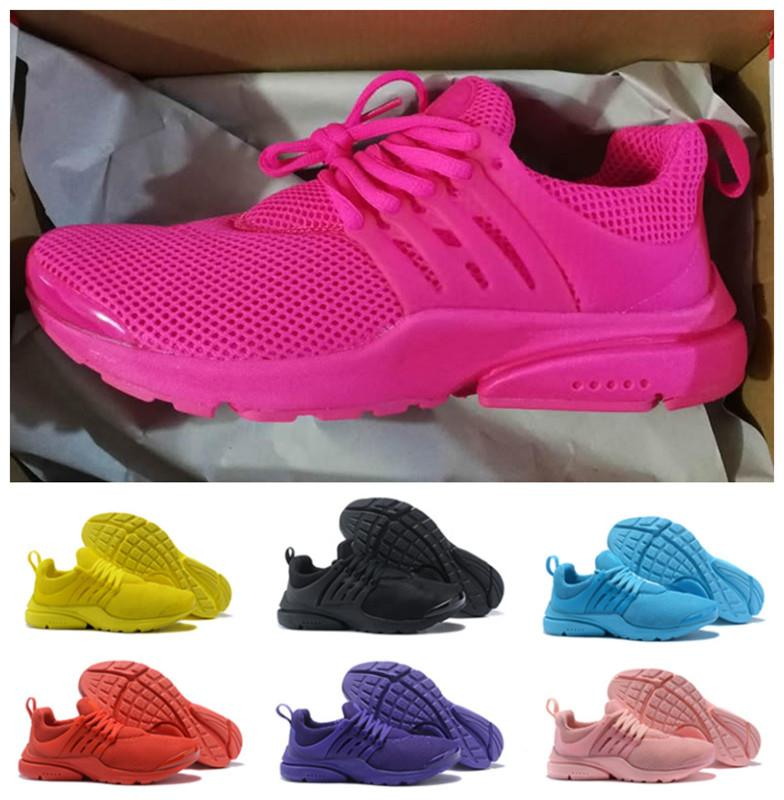 5 12 New Prestos Running Men Women Presto Ultra Br Qs Yellow Pink Oreo Fashion Jogging Sports Sneakers Size Us .- Outdoor Shoes