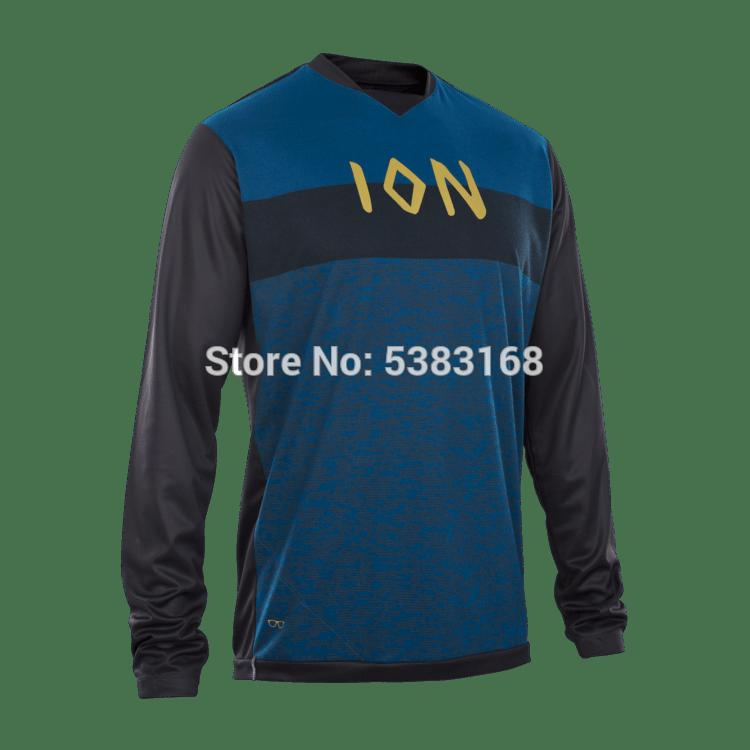Novo Off Road motocross Jersey Montanha MTB DH Bike Cycling Jersery downhill Jersey respirável Luz Quick Dry