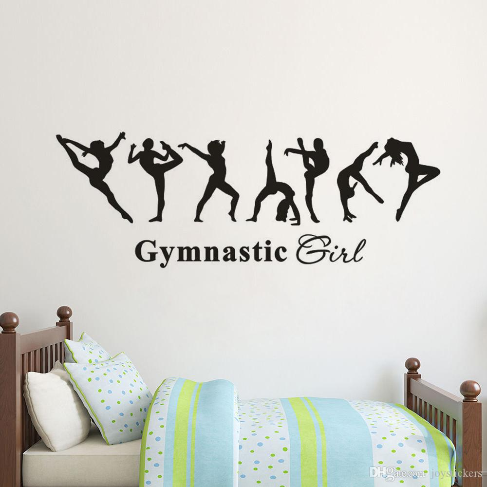 I love gymnastics Decal VERSION 2 Amazing wall stickers vinyl highest quality