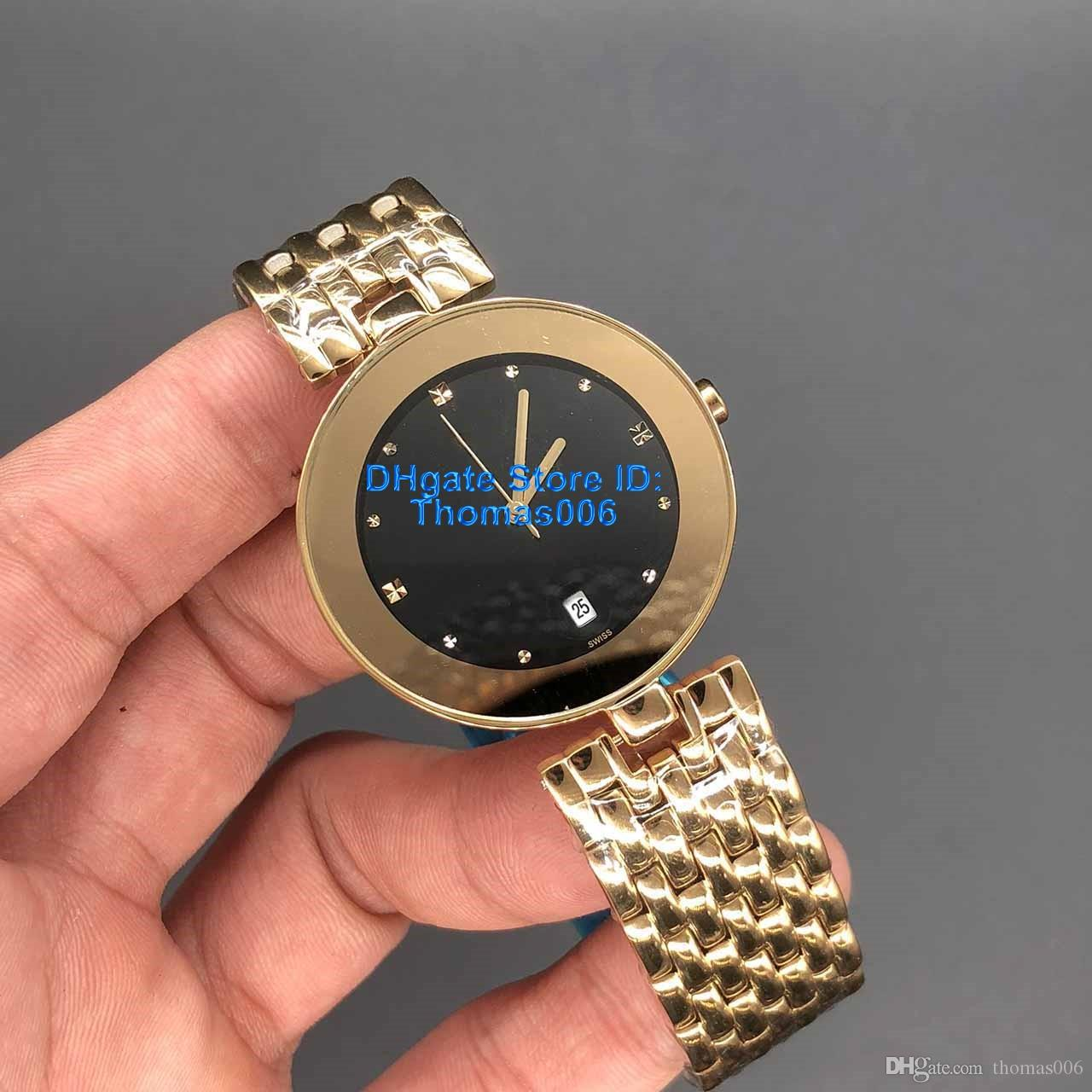 Montres Lady Célèbre Montre Or Moderne Qaurtz Fashion Gold Watch Dames Casual Sport Montre 34mm Qualité