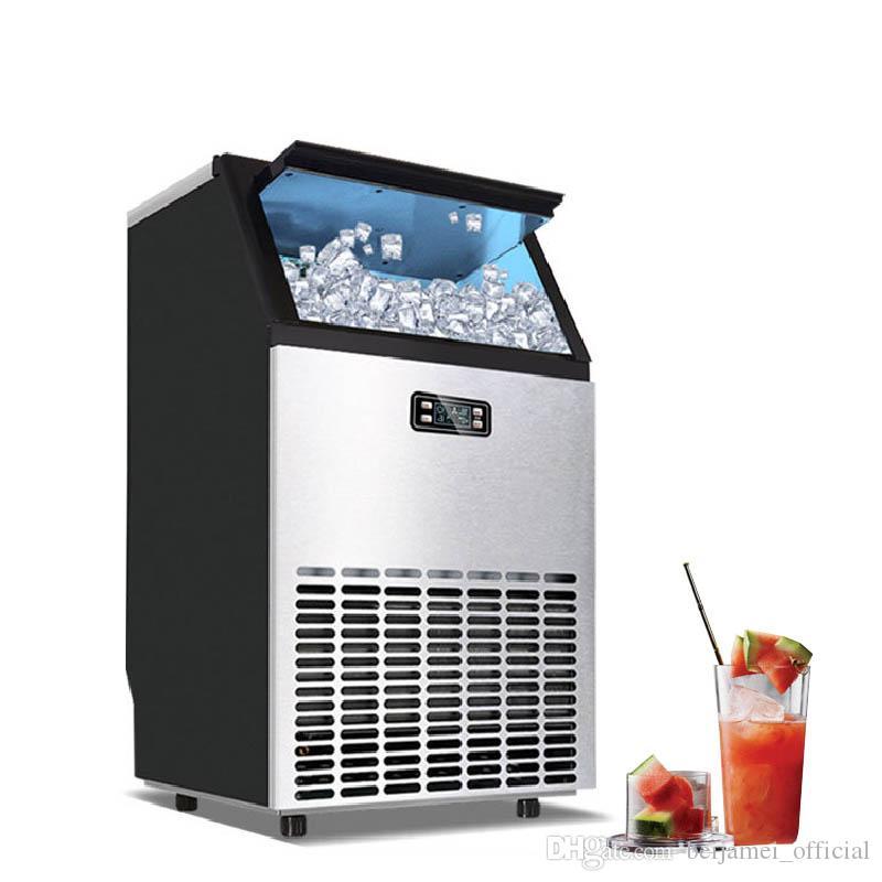 BEIJAMEI de hielo automático que hace la máquina del fabricante del cubo eléctrico de hielo para la barra de café tienda de té con leche