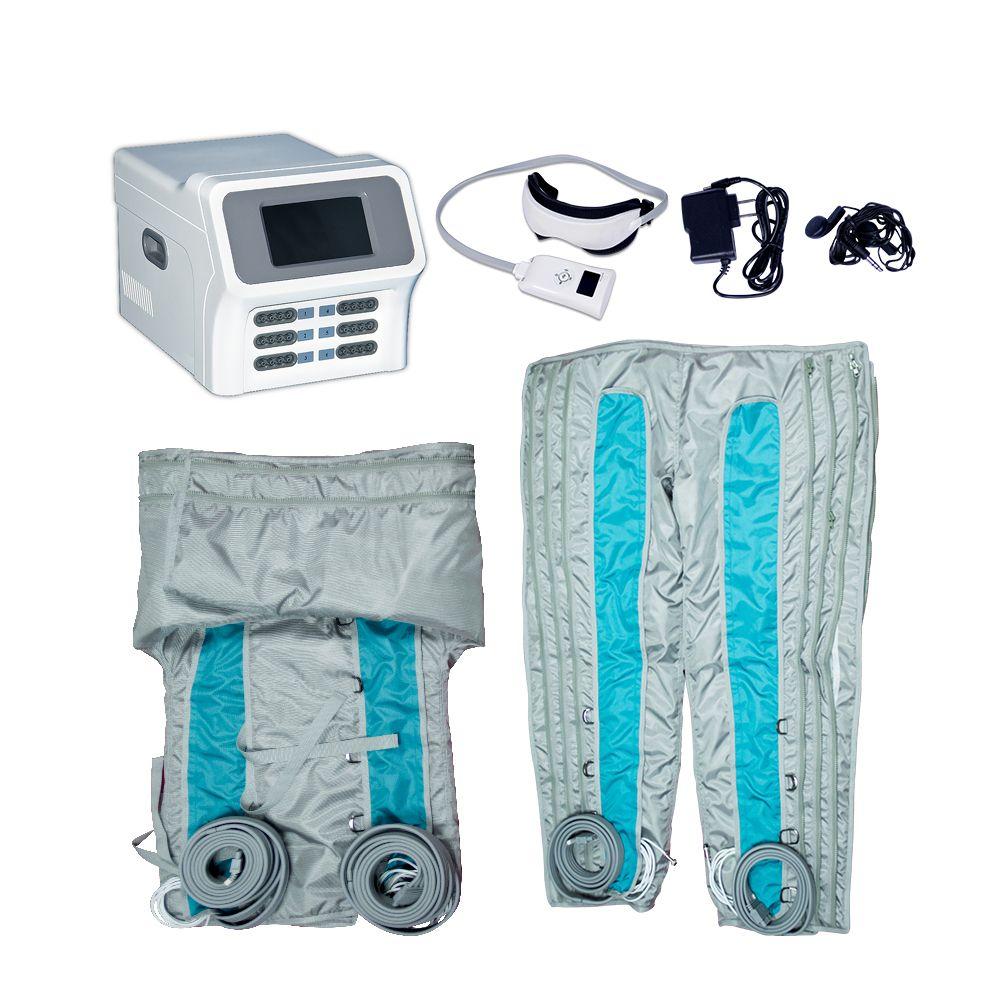 HOT 림프 배수 발과 몸 패치 해독 공기 압력 마사지 슬리밍 기계