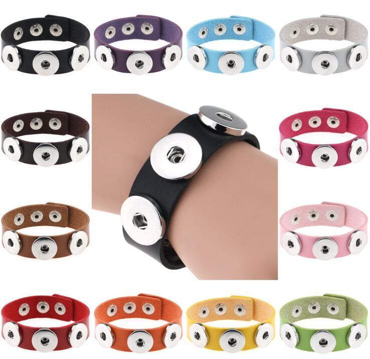 Подвески Привязать браслет DIY браслеты серебро привязок Пуговицы ювелирных изделий браслета женщин 18мм Дешевые Knot Имбирь привязок ювелирные изделия кожаные браслеты
