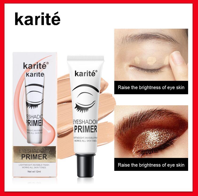 Sombra de ojos Primer Ojos Maquillaje Base impermeable fácil de usar corrector de ojo cosmética Base Primer 12ml larga duración
