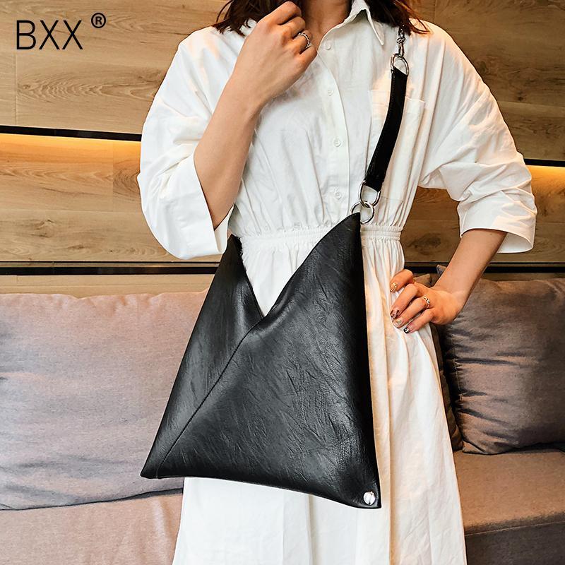 [BXX] Les femmes seule épaule sac à bandoulière Tout match Flap 2019 Eté Femme grande capacité Sac à main en cuir souple chaîne fourre-tout HF217