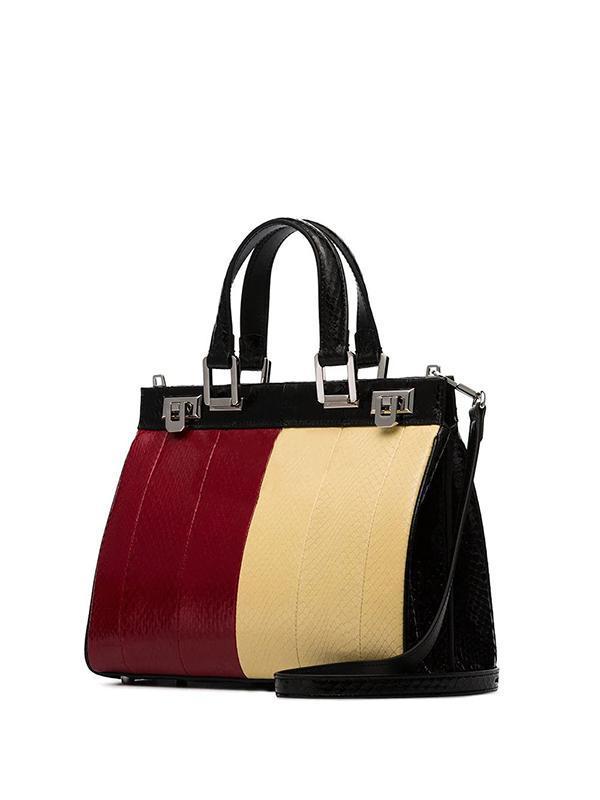 modacı lüks çantası 19 sonbahar kış G renkli deri çizgili horsebit toka bayan çanta omuz çapraz çanta Hab72 #