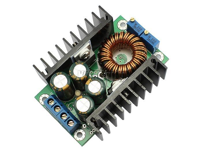 Freeshipping 10pcs DC-DC CC-CV Buck Converter Step-down Power supply Module 7-40V to 1.2-35V 8A 300W High efficiency For LED Drive&Charging