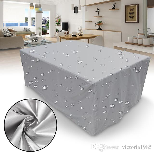 New 15Sizes Waterproof Outdoor Patio Garden Furniture Covers Rain Snow Chair covers for Sofa Table Chair Dust Proof Cover