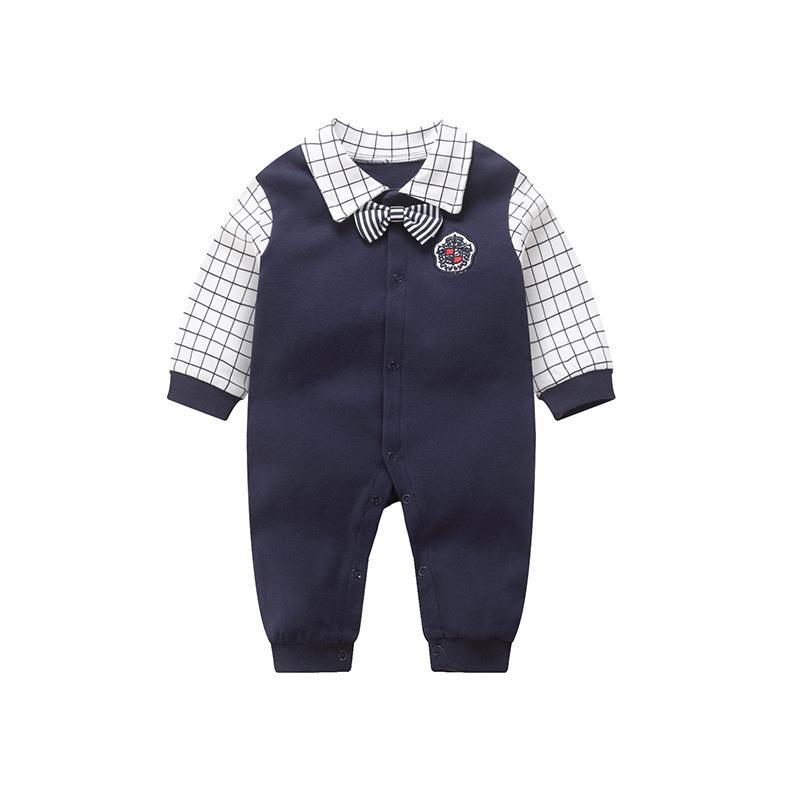 Modèles de printemps Vêtements de bébé Vêtements de bébé en gros Combinaisons bébé nouveau-né Grimpez les vêtements en coton