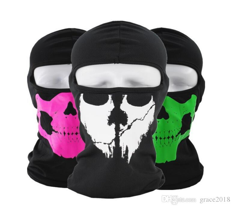 Windproof Ski Mask - skull Cold Weather Face Mask Motorcycle Neck Warmer or Tactical Balaclava Hood - Ultimate Thermal Retention in Outdoors