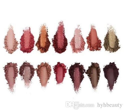High Quality 14 Colors Eyeshadow Makeup Eyeshadow Palette Shimmer Fashion Cosmetics Set Waterproof Long Lasting Eye Beauty Palette