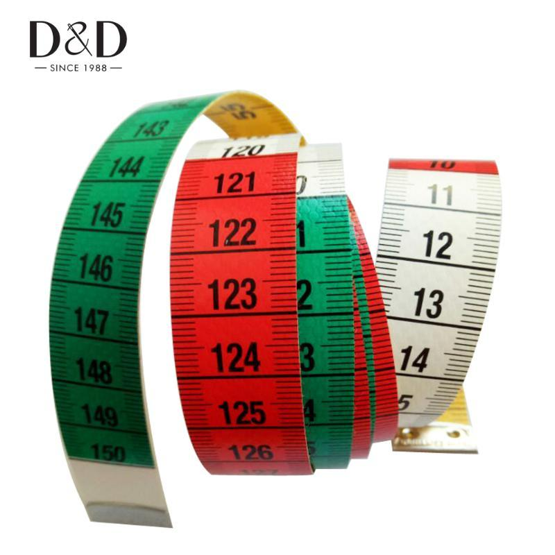 New 150CM 60Inches Soft Flat Tailoring Tape Measures Sewing Measuring Sewing Ruler Tools Top Quality