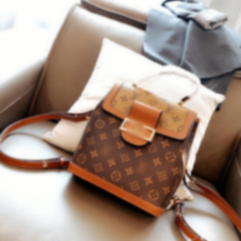 Vendita calda L di lusso dello zaino del progettista delle donne di marca borse Ragazze Waistbag Borse a tracolla casual croce corpo borsa Designer Portafoglio libero 2062906L