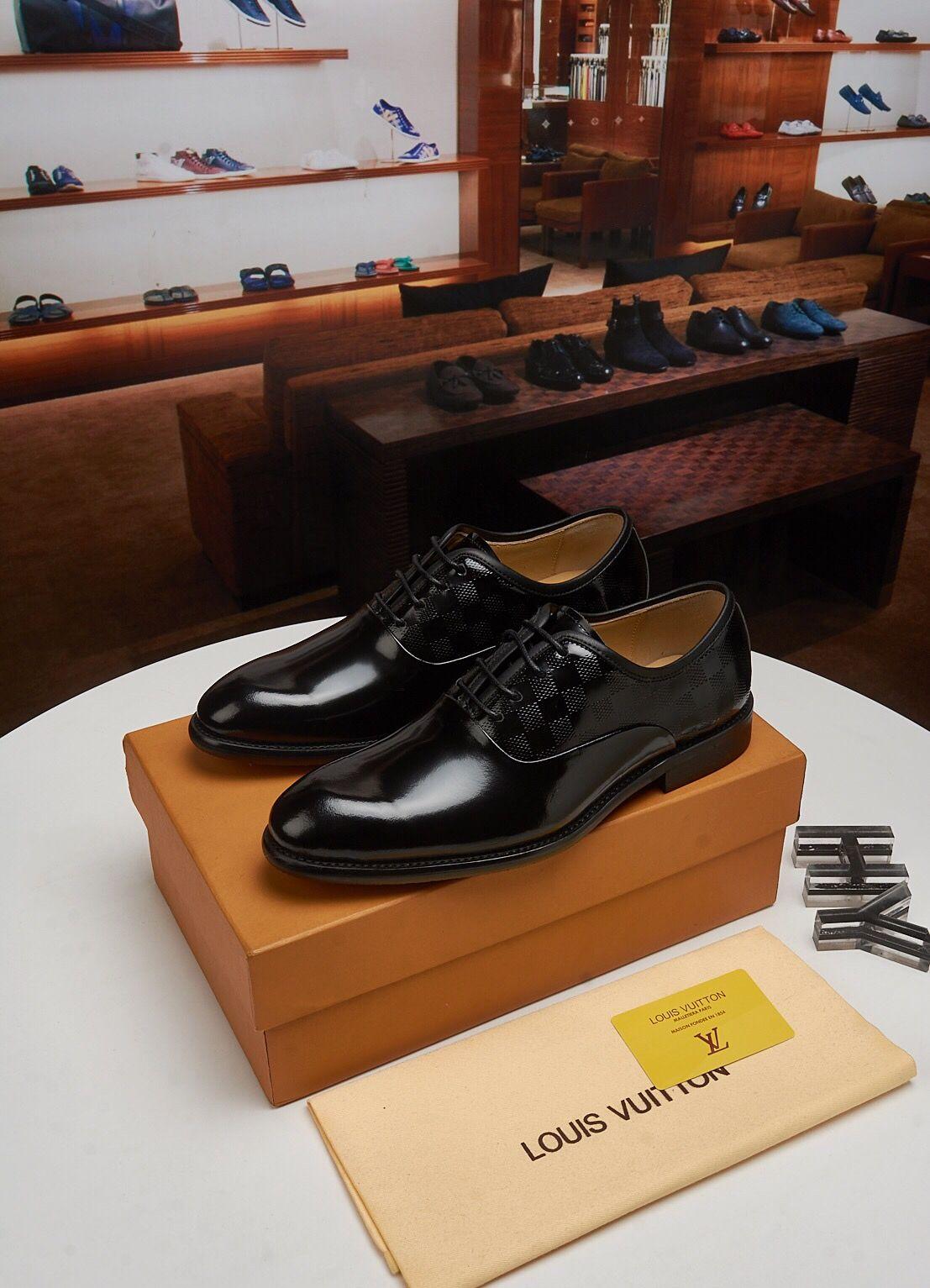 탑 럭셔리 남자 남성 캐주얼 드레스 영국 암소 정품 가죽 신발 플랫 작업 봄 가을 손수 크기 45